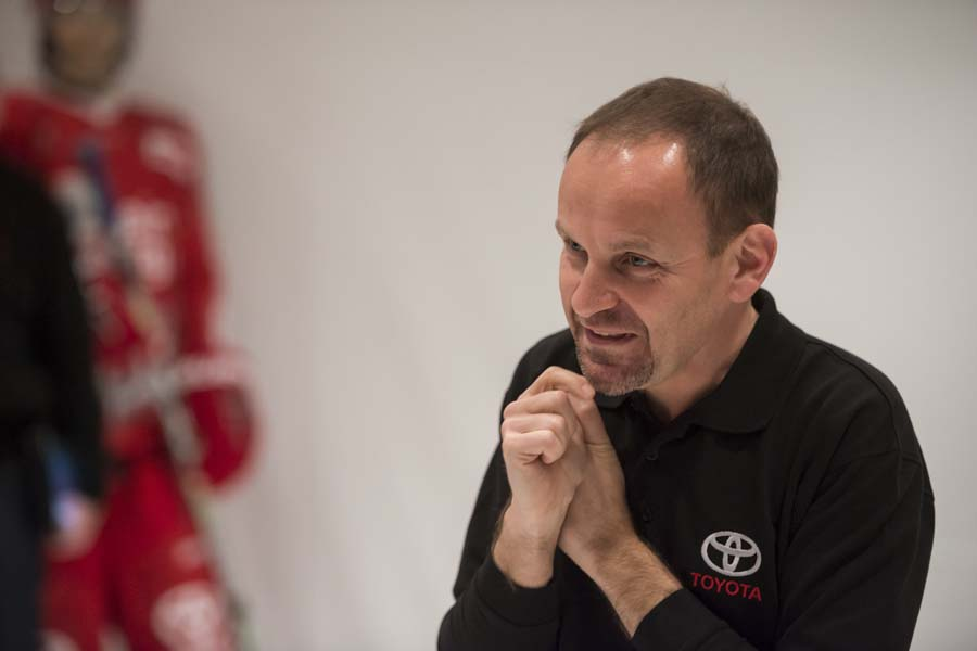 Antonio Iocca at the Toyota Auris Product Training - Llucmajor - Mallorca - January 2012